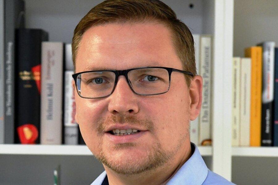 Steve Ittershagen - Vorsitzender der CDU-Mittelstandsvereinigung Freiberg