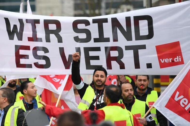 Sachsen: Am Mittwoch Warnstreiks im regionalen Linienverkehr