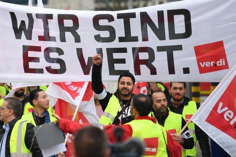 Erneute Warnstreiks im Einzel- und Versandhandel in Sachsen