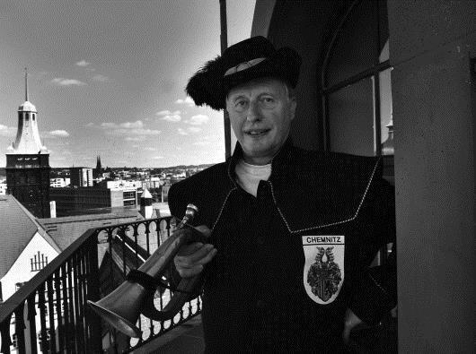 Der Chemnitzer Türmer Stefan Weber ist am Freitag gestorben.