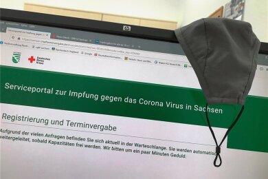 Das sächsische Serviceportal für die Impfung gegen das Corona-Virus.