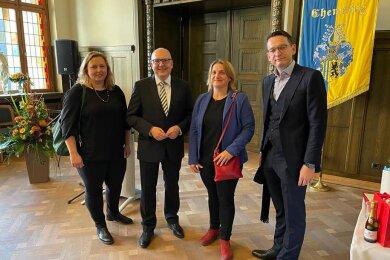 Der Chemnitzer Oberbürgermeister Sven Schulze feierte am Sonntag einen runden Geburtstag.