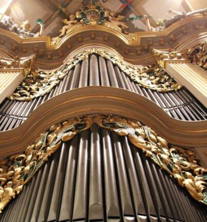 Mächtig und filigran zugleich: Die Große Silbermannorgel im Freiberger Dom wird nun wieder vor Publikum erklingen.