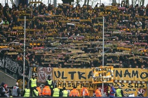 Dresden muss für das Fehlverhalten seiner Fans aufkommen