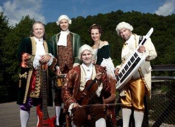 Mercurius wird im barocken Schlosspark für musikalische Stimmung sorgen.
