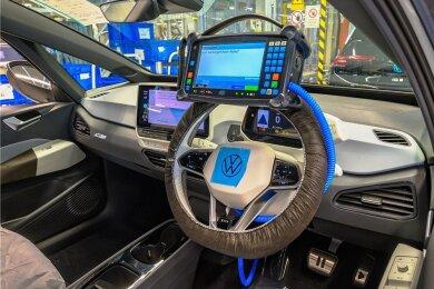 Produktion des ID.4 bei VW Sachsen in Zwickau: Die Software im Auto wird immer wichtiger. Jetzt nimmt Volkswagen viel Geld in die Hand, um in diesem Bereich die Spitzenposition zu erreichen.