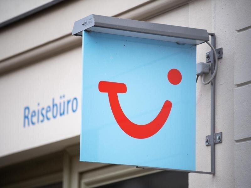 Ein Tui-Reisebüro in Potsdam.