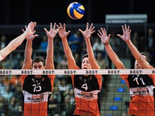 Berlin Recycling Volleys treffen auf polnische Topclubs
