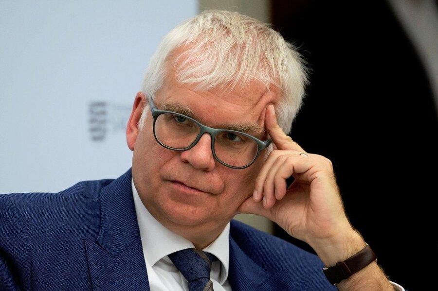 Hartmut Vorjohann - Sächsischer Finanzminister
