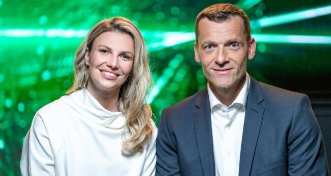 Daniele Vogt und Michael Schüngel haben in Freiberg die Firma Quantus - Agriculture Technologies gegründet.
