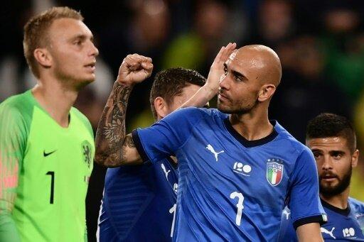 Brachte Italien 1:0 in Front: Simone Zaza (r.)