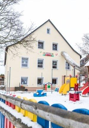 Das Kindertagesstätten-Gebäude in Gehringswalde ist in die Jahre gekommen. Ein Neubau ist geplant.