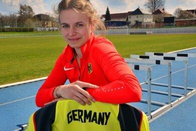 Wieder mit dem Adler auf der Brust: Die World Athletics Relays, die inoffiziellen Staffel-Weltmeisterschaften, sind für Anne Weigold am Wochenende der erste internationale Wettkampf im Erwachsenenbereich.
