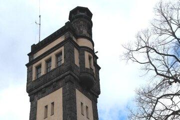 Am Aussichtsturm in Geringswalde muss nachgebessert werden.