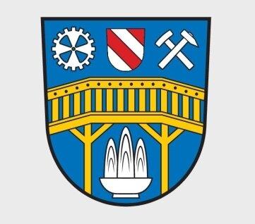 So sieht das neue Wappen von Aue-Bad Schlema aus.