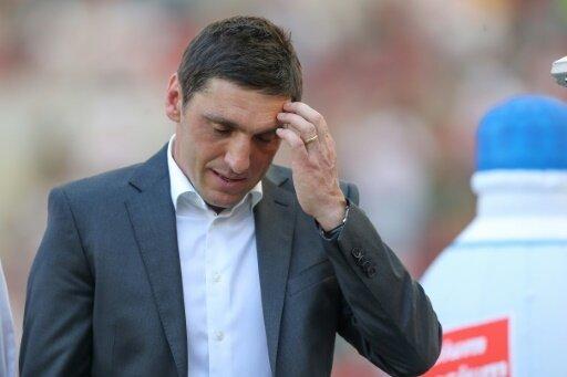 Tayfun Korkut und sein VfB warten weiter auf einen Sieg