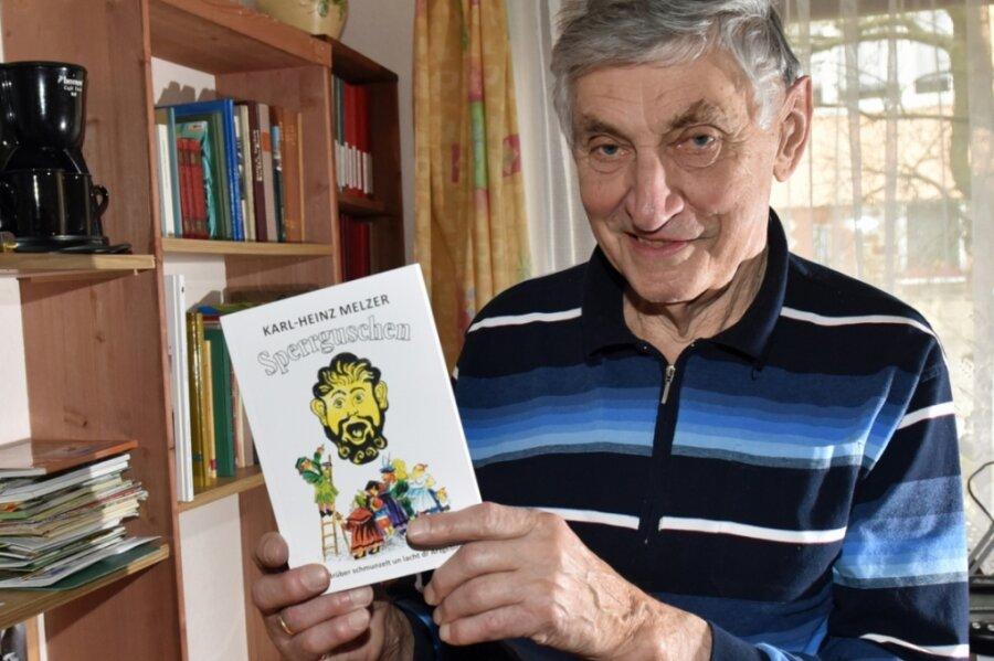 Karl-Heinz Melzer hat eine Vielzahl Beiträge in erzgebirgischer Mundart geschrieben und herausgegeben. Auch dieses Büchlein namens Sperrguschen, welches Mundartwort des Jahres 2017 im Erzgebirge war, stammt aus der Feder des Mauersbergers.