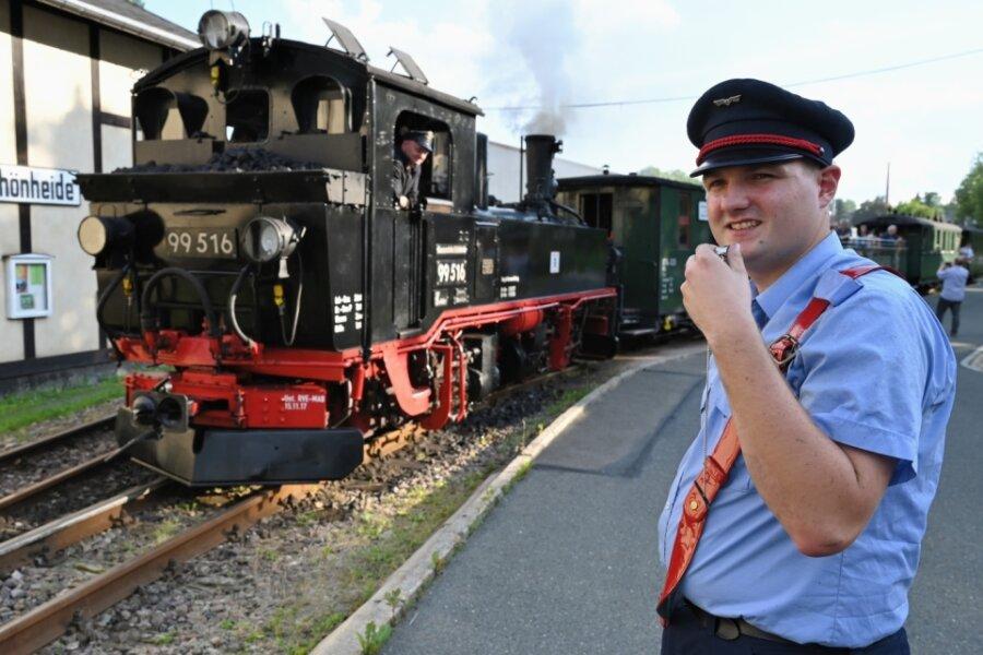 Museumsbahn Schönheide dampft wieder