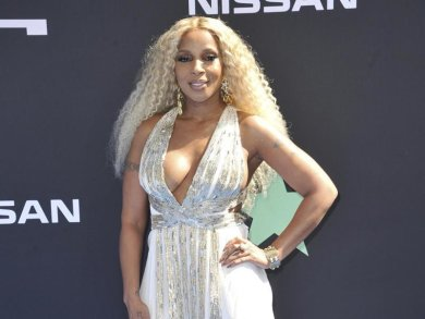 Der Star des Abends: Mary J. Blige bei den BET Awards im Microsoft Theater in Los Angeles.