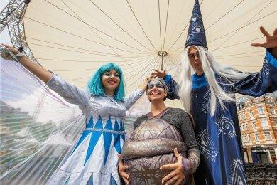 Mondfee, Motte und Zauberer: Im Juli soll es in Annaberg-Buchholz wieder märchenhaft zugehen.