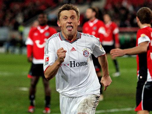Bayern-Torschütze Ivica Olic