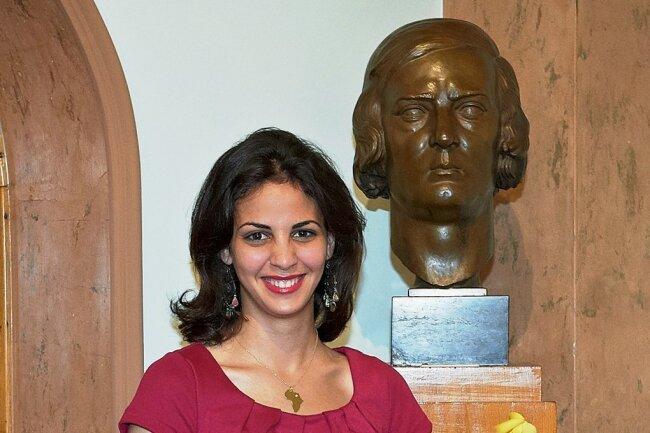 Fatma Said im Juni 2012 als Preisträgerin beim 16. Internationalen Robert-Schumann-Wettbewerb in Zwickau.