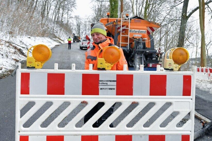 Bockauer Straße zum Eichert wird auf 150 Metern zur Baustelle