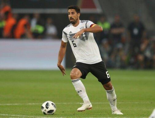 Sami Khedira ist nicht für die Länderspiele nominiert