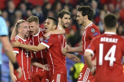 Bayern kann einen 2:1-Hinspielerfolg bejubeln