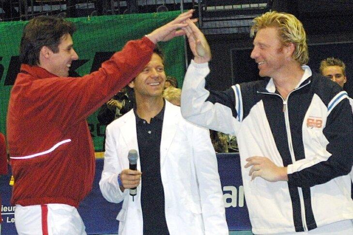 Boris Becker und Michael Stich