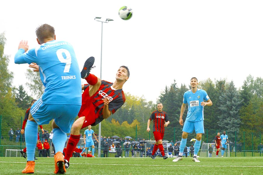 Chemnitz gewann beim ESV Lok Zwickau 3:0.
