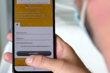 Patienten des Zschopauer Krankenhauses können sich kostenlos insW-Lan einloggen.