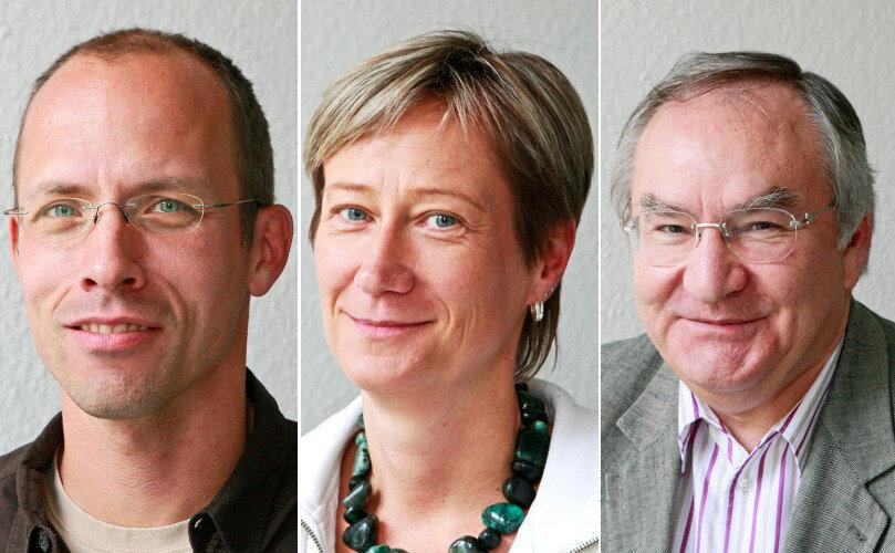Dr. Mike Junghanns, Dr. Anne-Kathrin Sünder und Dr. Kurt Lobodasch (v.l.n.r).