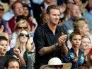 David Beckham wird für seine Leistungen geehrt