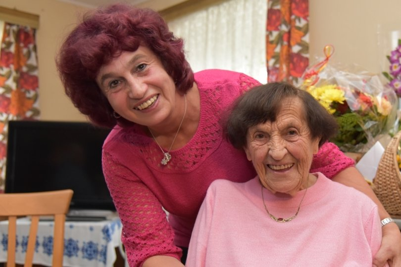 Eine der ältesten im Land: Anna Seidel aus Bärendorf wird 107