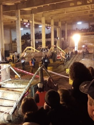 Tausende Zuschauer, die im ehemaligen Hohndorfer MZ-Werk den Enduro-Prolog bejubeln, wären heuer nicht möglich gewesen.