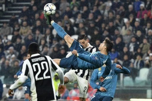 Ronaldo trifft per Fallrückzieher zum 2:0