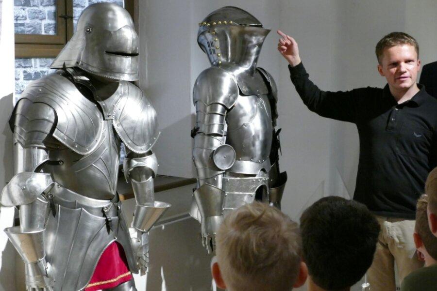 """""""Mythos Ritter"""" wird auf der Burg Scharfenstein wieder lebendig"""