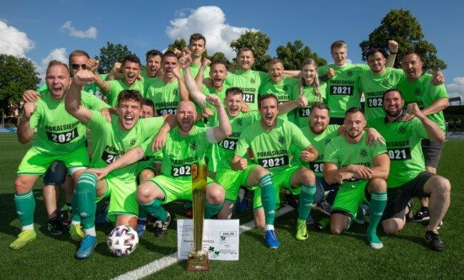 Am 3. Juli bejubelte Sachsen Werdau die Titelverteidigung im Fußball-Kreispokal. Danach folgte eine juristische Auseinandersetzung.