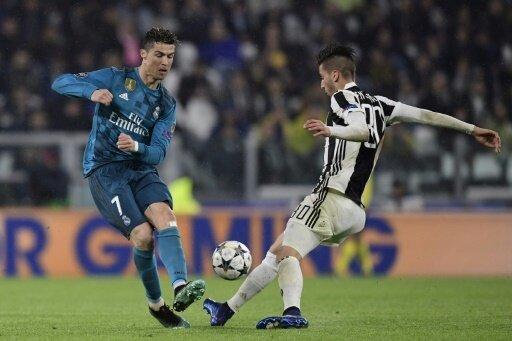 Ronaldo (l.) traf gegen Juve doppelt