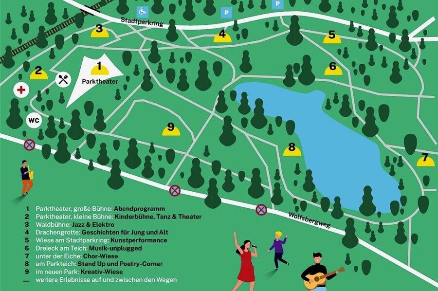 Kulturfest im Plauener Stadtpark: Das erwartet die Gäste