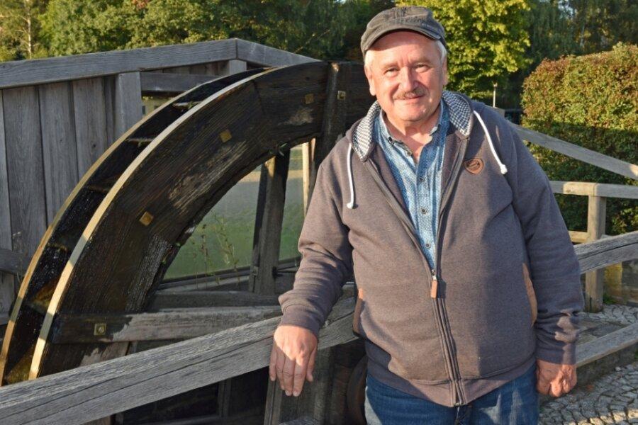 Hans-Jürgen Bayerl ist Wanderwegewart in Oederan und lädt zur Spurensuche des Bergbaus in Oederan ein.