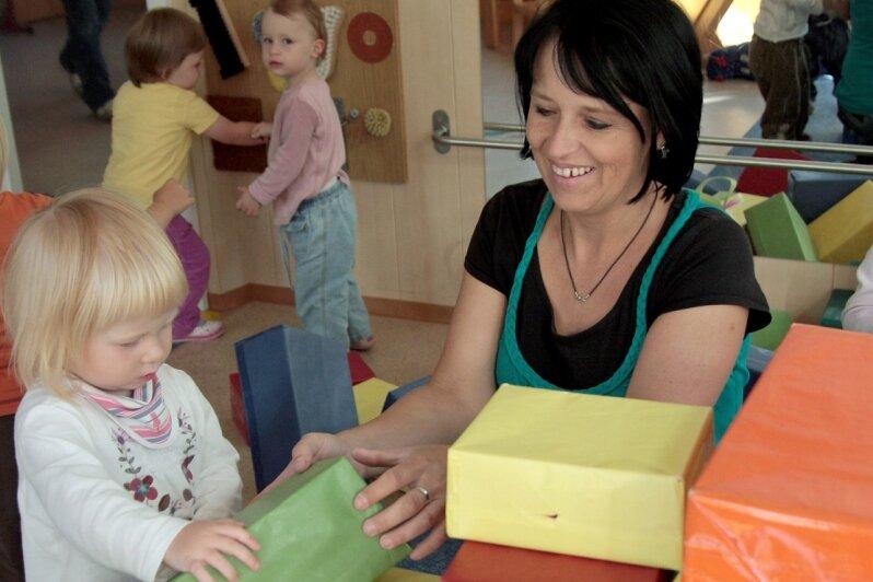 """<p class=""""artikelinhalt"""">In Marienberg gibt es für 90 Prozent der Kinder Krippenplätze. In der Villa Zwergenland sind es 25. </p>"""