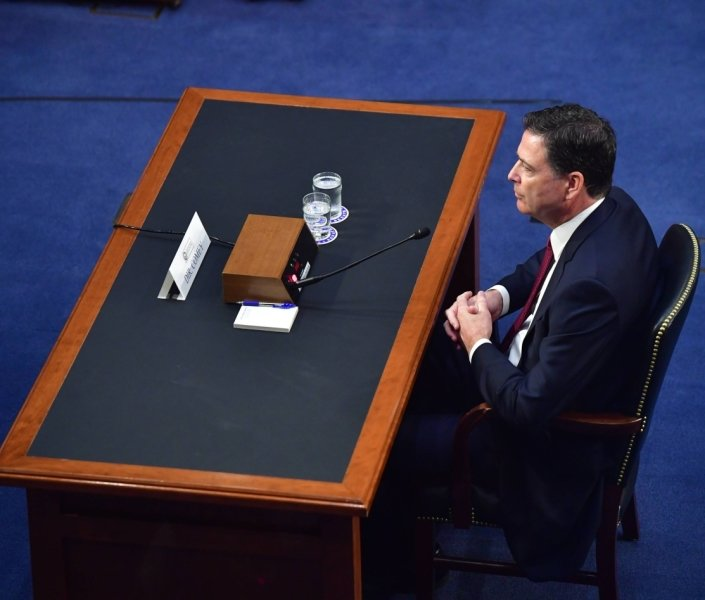 Der frühere FBI-Direktor James Comey sagte vor einem Senatsausschuss aus. Vieles war schon seit dem Abend zuvor bekannt. Aber einige starke Worte überraschten dann doch noch.