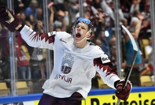 Abols bejubelt sein Tor gegen Norwegen