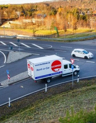 Immer wieder passieren Unfälle an der Kreuzung B 173/B 173n bei Flöha und Niederwiesa.