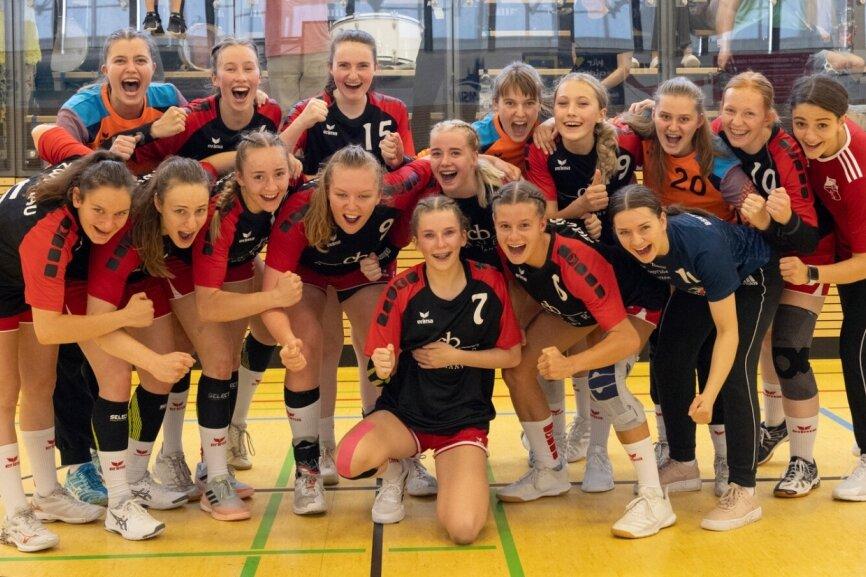 Geschafft: BSV bejubelt Aufstieg in die A-Juniorinnen-Bundesliga