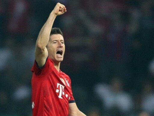 Lewandowski hat vier Treffer in Pokalendspielen erzielt