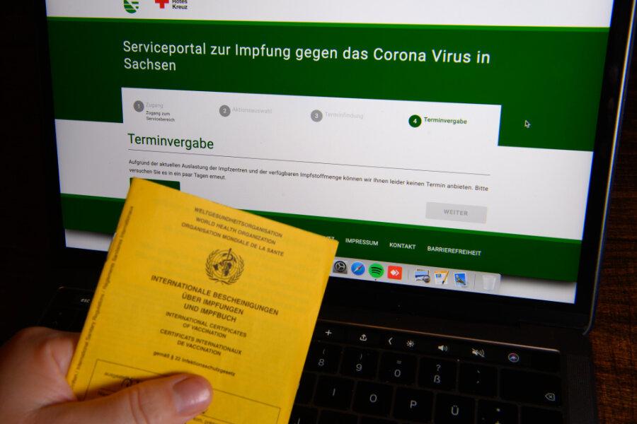 Corona-Lage im Erzgebirge: Aue stellt Impfhotline ab