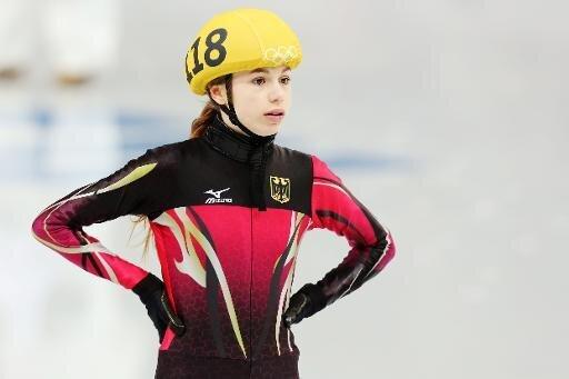 Kommt als Zweite ins Ziel: Anna Seidel